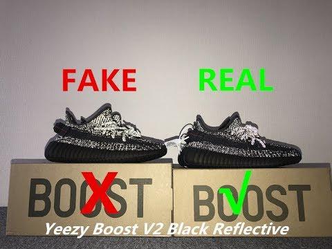yeezy 350 reflective fake