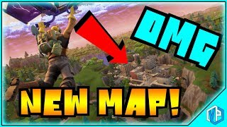 Fortnite *NEW MAP* Playing with PATCH Feels Great! CRAZY GAMEPLAY!