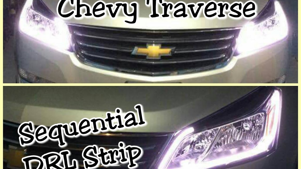 Chevrolet Traverse With Led Drl Switchback Sequential