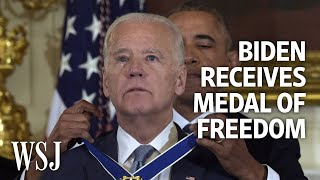 President Obama Surprises Joe Biden With Medal of Freedom