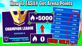 How To EASILY Get 5000+ Arena Points A DAY! (Best Way To Reach Champion League)
