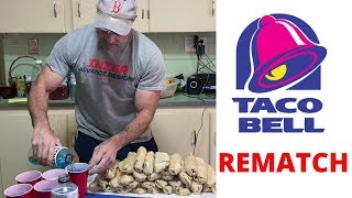 Taco Bell Rematch | 30 Beefy Burritos speed challenge.