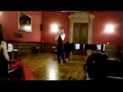 Violinist Virtuoso Ysaye Ballade solo Sonata - Tymur