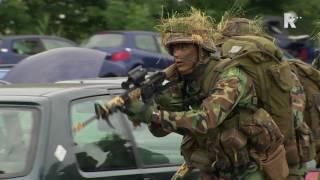 Mariniers in opleiding beginnen aan laatste oefening