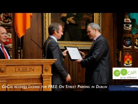 GoCar's receive License for Free On Street Parking in Dublin