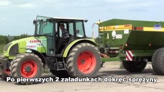 Instrukcja rozsiewacza UPR, Düngerstreuer POMOT Bedienungs