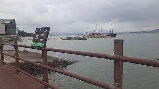 목포문화예술회관 앞에있는 바다, 배들4