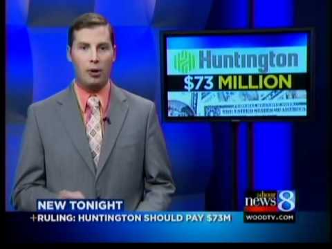 Judge: Huntington Bank must pay $73M