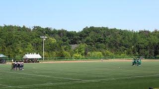 2017.5.20 愛知県高校総体サッカー3回戦 東邦vs東学 前半