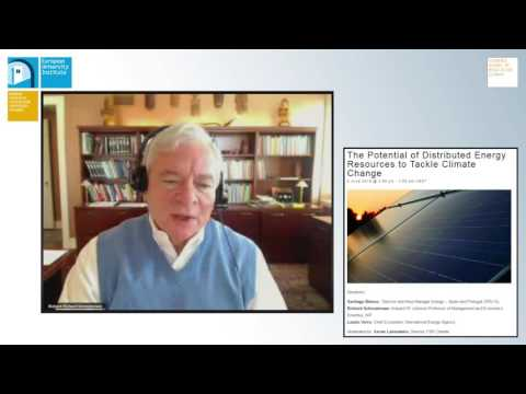 Richard Schmalensee | Distributed energy resources in systems with electric grids