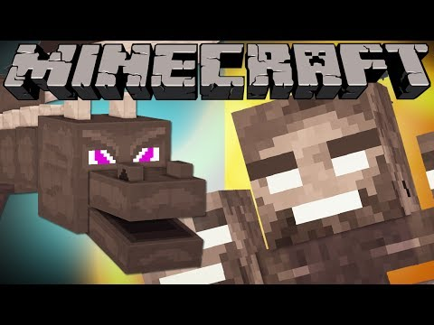 Thumbnail: If the Enderdragon and Wither Met - Minecraft