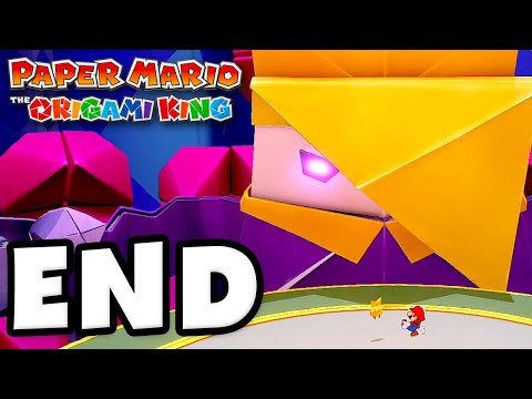 King Olly Boss Fight! ENDING! – Paper Mario: The Origami King – Gameplay Walkthrough Part 29