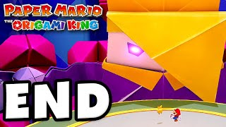 King Olly Boss Fight! ENDING! - Paper Mario: The Origami King - Gameplay Walkthrough Part 29