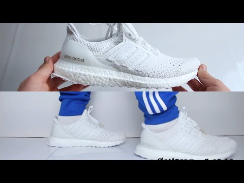Adidas Ultra Boost Clima 'Triple White'  UNBOXING & ON FEET