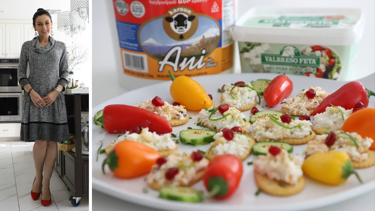 Պանրով Նախուտեստների Տարբերակներ - Karoun Dairies - Heghineh Cooking Show in Armenian