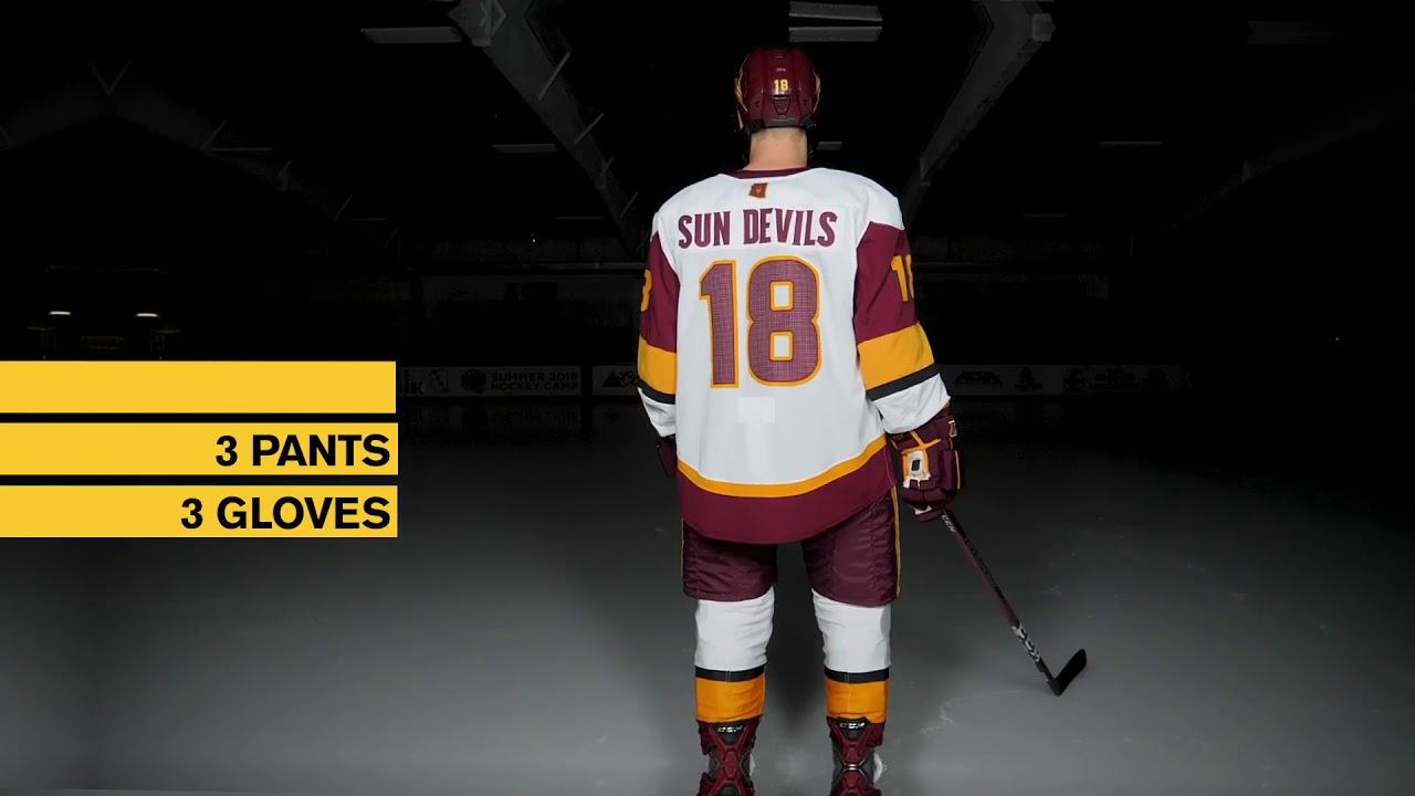 half off c5ee3 2b98c Sun Devil Hockey, adidas Unveil New ADIZERO Jerseys