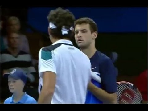 Grigor Dimitrov vs. Milos Raonic 5-7, 4-6 If Stockholm Open (QF) 21.10.2011.