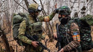 Российско-китайский спецназ  захватывает террористов