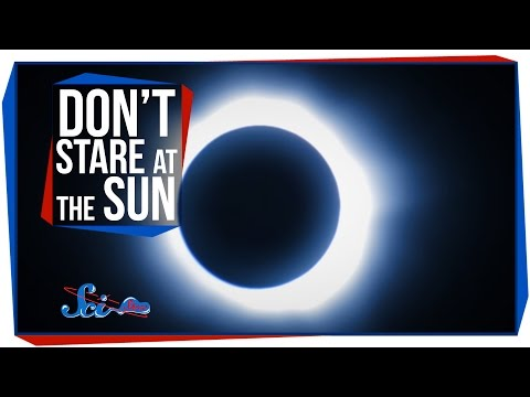Why Shouldn't You Look at the Sun?