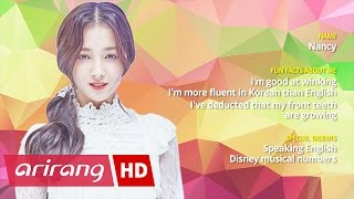 Pops in Seoul _ MOMOLAND(모모랜드) _ Nancy(낸시) _ Profile