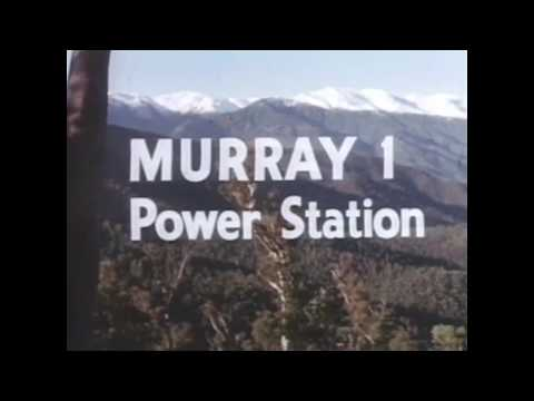 Murray 1 Power Station Archive Footage