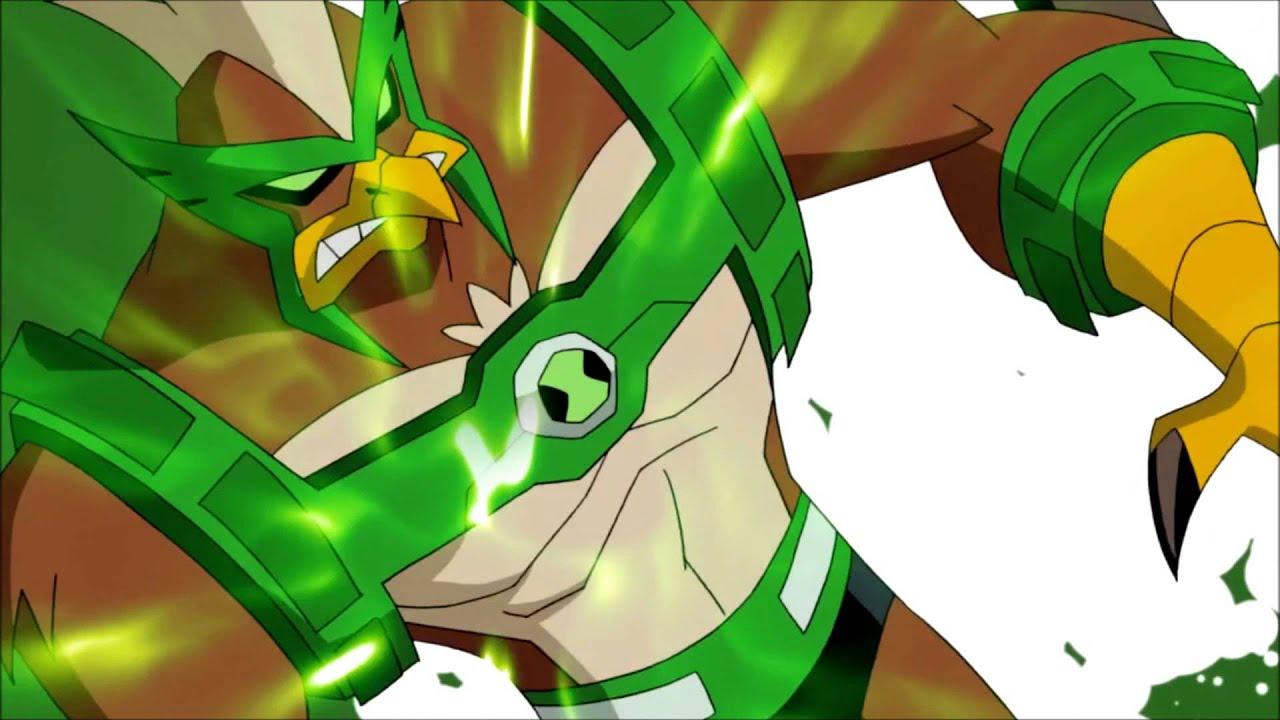 Ben 10 Omniverse Kickin Hawk Transformation HD (1080p ...