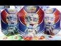 Opening 4x Glaceon GX Evolution Celebration Pokemon Tins