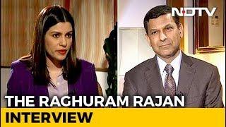 """""""Not Enough Focus On Joblessness,"""" Raghuram Rajan Tells NDTV"""