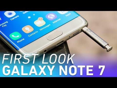 Samsung Galaxy Note 7 first look