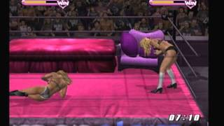 Repeat youtube video WWE SmackDown! Vs Raw 2006 - Michelle McCool Vs Torrie Wilson Fullfill your fantasy part 1