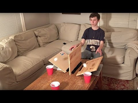 Thumbnail: Ping Pong Trick Shots (With a Fidget Spinner Shot) | That's Amazing