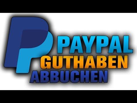 Paypal Guthaben Karte.Paypal Guthaben Auf Konto überweisen Tutorial Geld Abbuchen Youtube