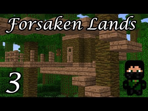 Minecraft - Forsaken Lands #3 - Tree Pods