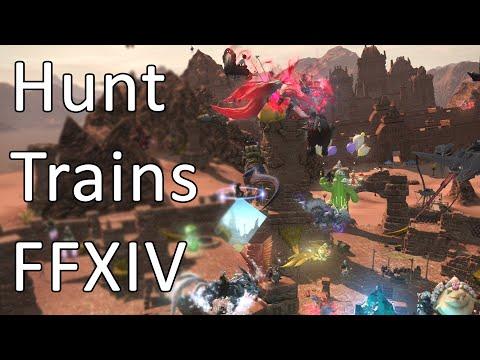 Hunt Trains - FFXIV