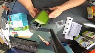 видео Внутренний фильтр для аквариума 60 литров