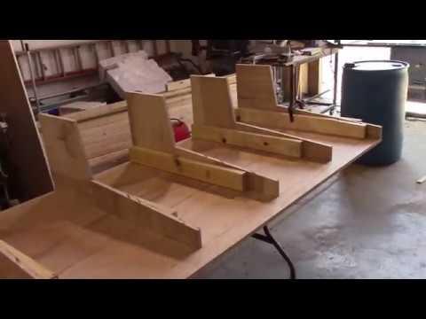 DIY Audio recording desk Part 1