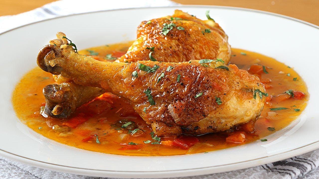 Pollo Guisado La Receta Más Fácil Y Rica Youtube