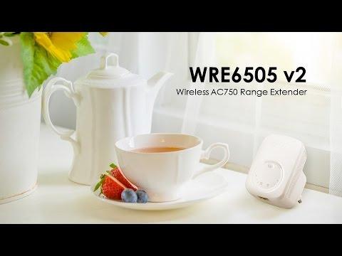 WRE6505 v2 - Wireless AC750 Range Extender