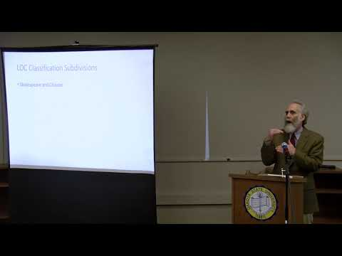 """""""The Illusion of Total Access: Libraries and Digitized Data"""" a talk by Drew E. Griffin"""