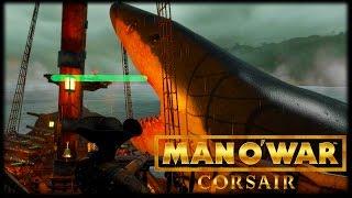 MEGALODON ATTACKS?! Man O' War: Corsair - Early Access Gameplay!