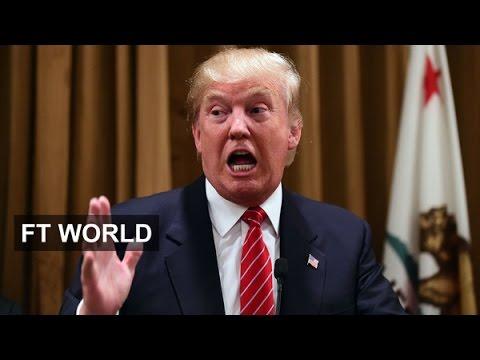 The 2016 Presidential election - a social media race | FT World