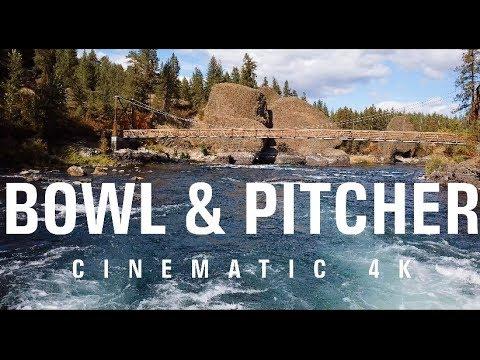 Bowl & Pitcher- Spokane, WA [DJI Mavic Pro- 4K]