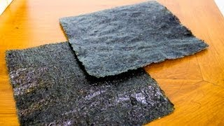 Nori - Toasted Seaweed  - Cooking Tip