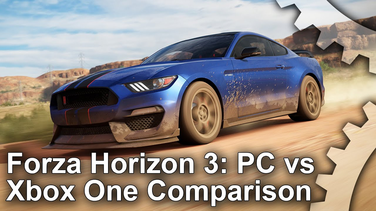 forza horizon 3 pc vs xbox one graphics comparison analysis youtube. Black Bedroom Furniture Sets. Home Design Ideas