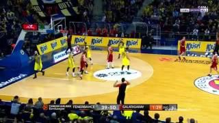 Fenerbahçe Ülker 85 80 Galatasaray Odeabank geniş özet