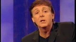 1999 Paul McCartney on Parkinson Part 6/14