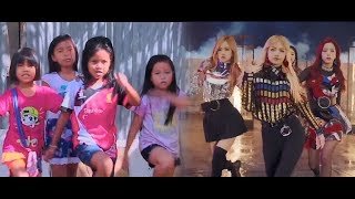 Gambar cover BLACKPINK & DEKSORKRAO - '불장난 (PLAYING WITH FIRE)' M/V
