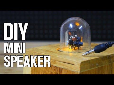 DIY Mini Speaker Box