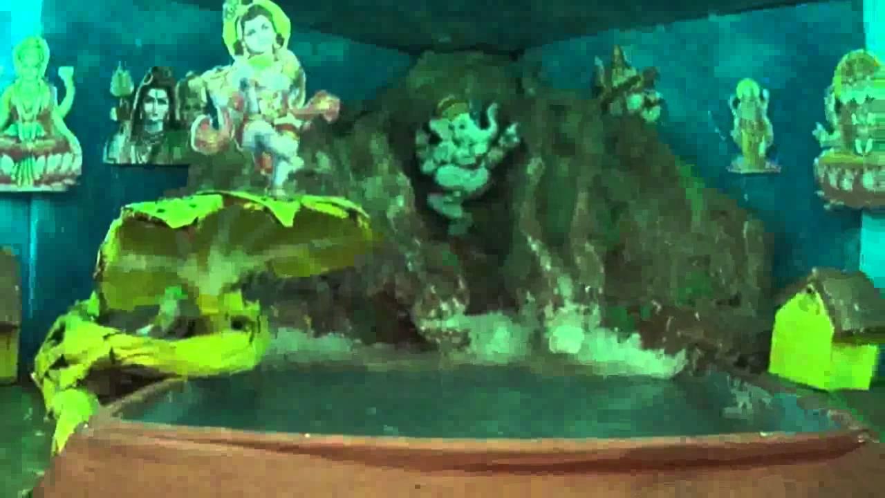 Lord Ganesh Decoration At Home