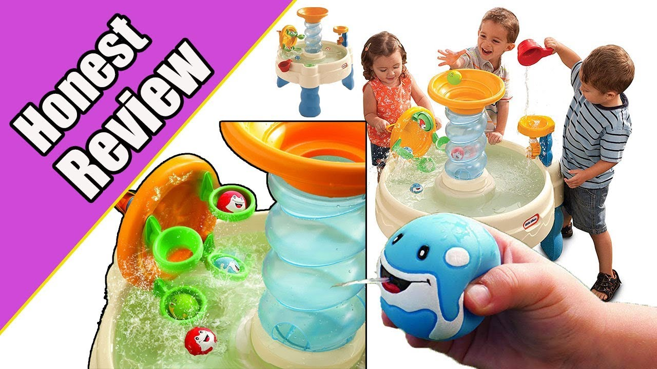 Honest Review Of Little Tikes Spiralin\' Seas Waterpark Play Table- Buy or  NOT?